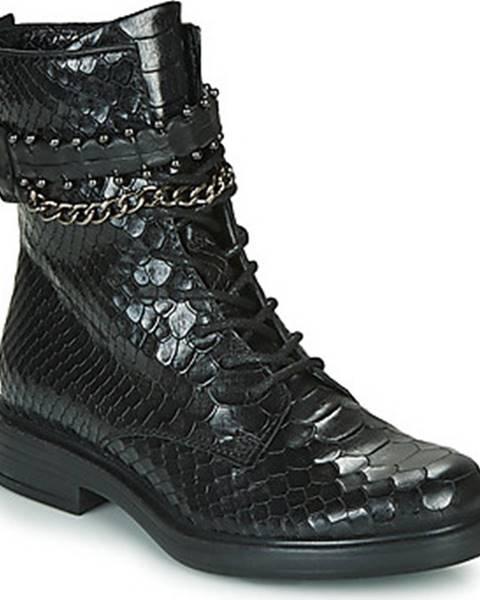 Černé boty Mjus