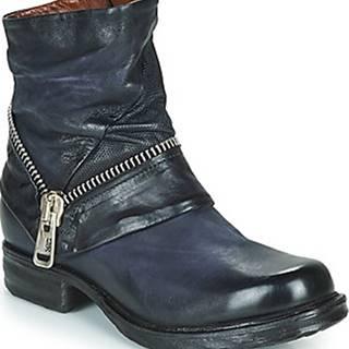 Kotníkové boty SAINT EC ZIP NEW Modrá