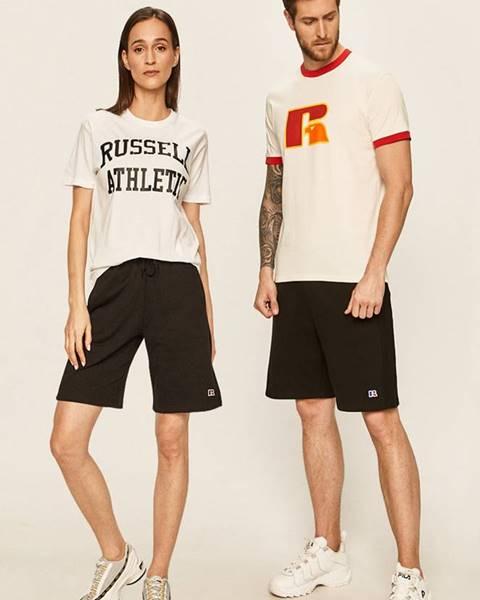 Černé kraťasy Russell Athletic