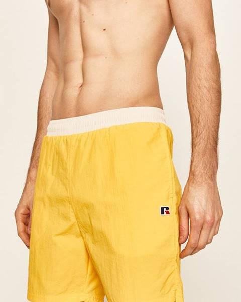 Žluté plavky Russell Athletic
