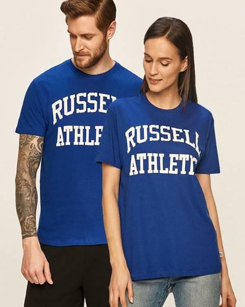 Modré tričko Russell Athletic