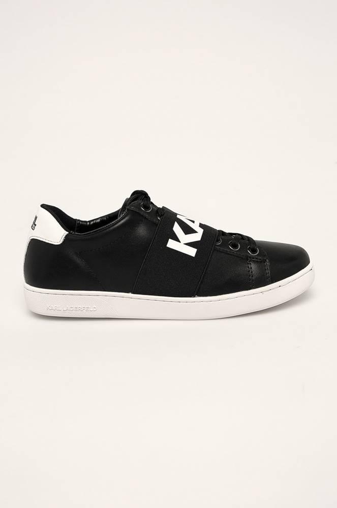 karl lagerfeld Karl Lagerfeld - Kožené boty