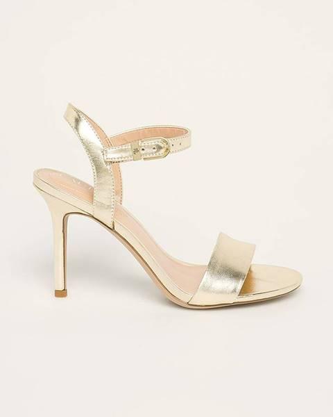 Zlaté boty lauren ralph lauren