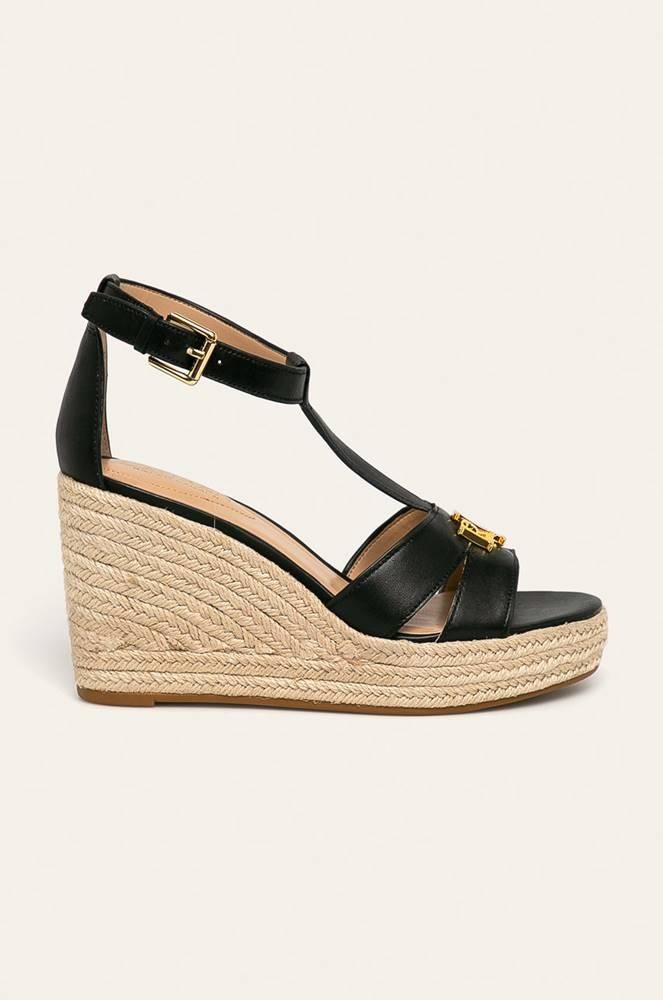 lauren ralph lauren Lauren Ralph Lauren - Kožené sandály