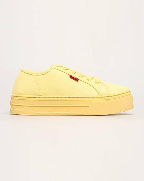 Žluté boty Levi's