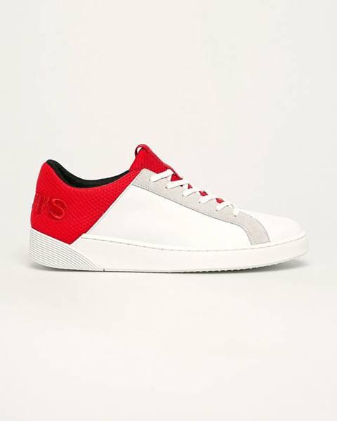 Červené boty Levi's