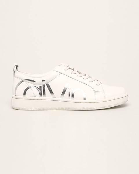 Bílé boty Calvin Klein