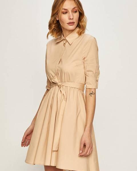 Béžové šaty Liu Jo