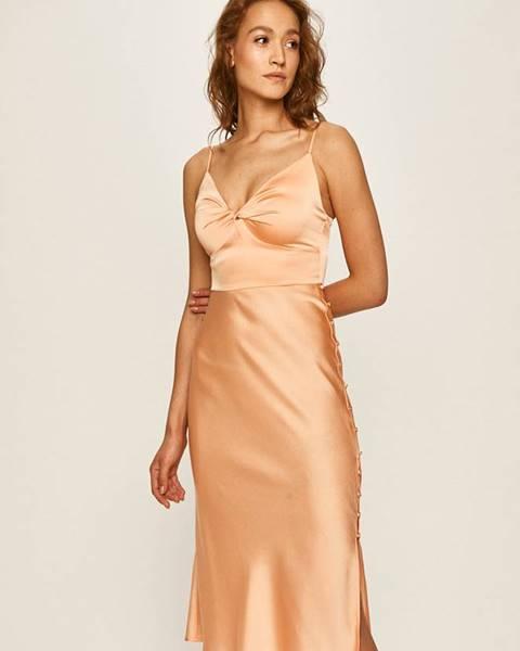 Oranžové šaty Marciano Guess