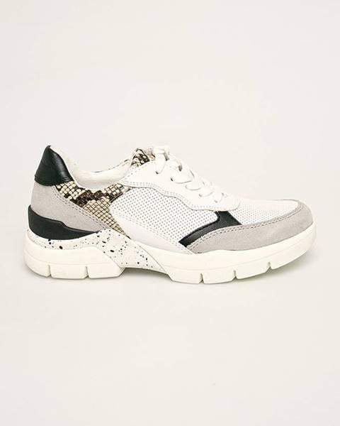Bílé boty Marco Tozzi