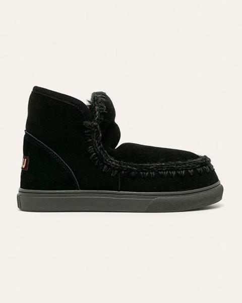 Černé boty Mou