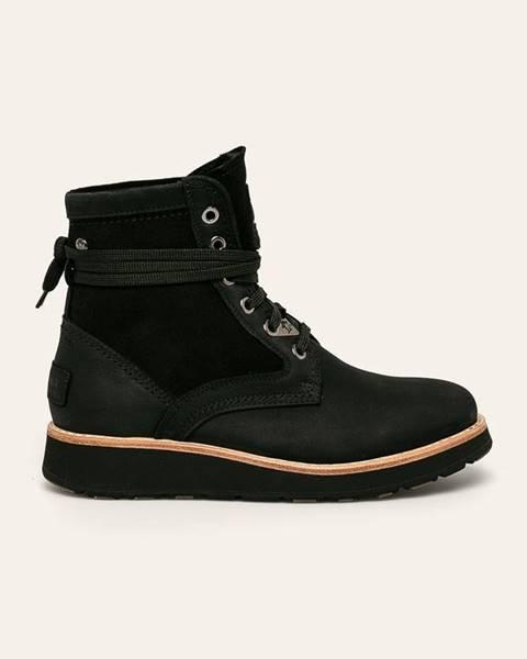 Černé boty Panama Jack