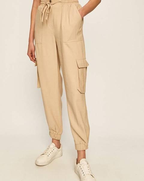 Béžové kalhoty only