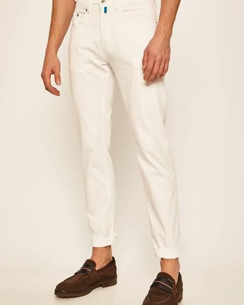 Bílé kalhoty Pierre Cardin