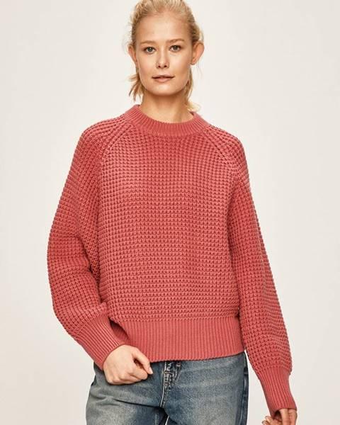 Růžový svetr pepe jeans