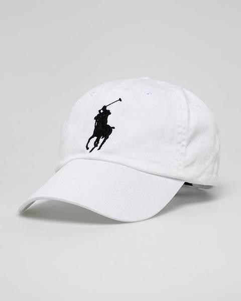 Bílá čepice Polo Ralph Lauren