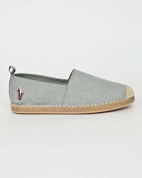 Šedé boty Polo Ralph Lauren