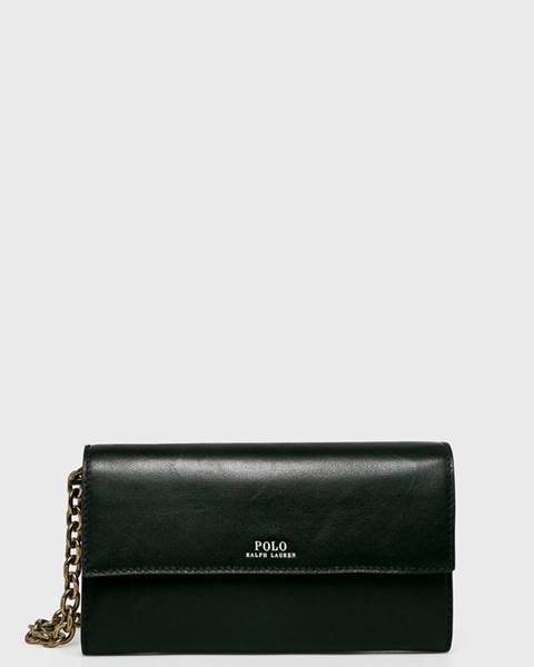 Černá peněženka Polo Ralph Lauren
