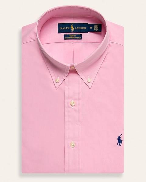 Růžová košile Polo Ralph Lauren