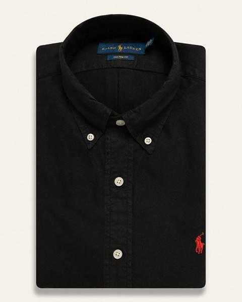 Černá košile Polo Ralph Lauren