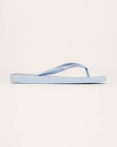 Modré boty calvin klein jeans