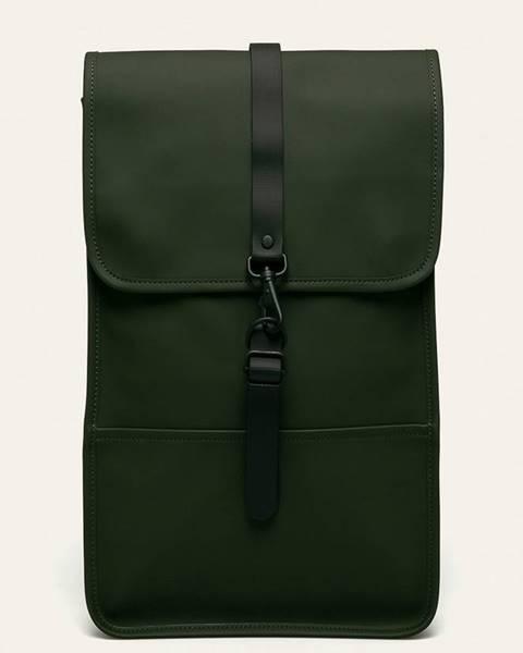 Zelený batoh Rains