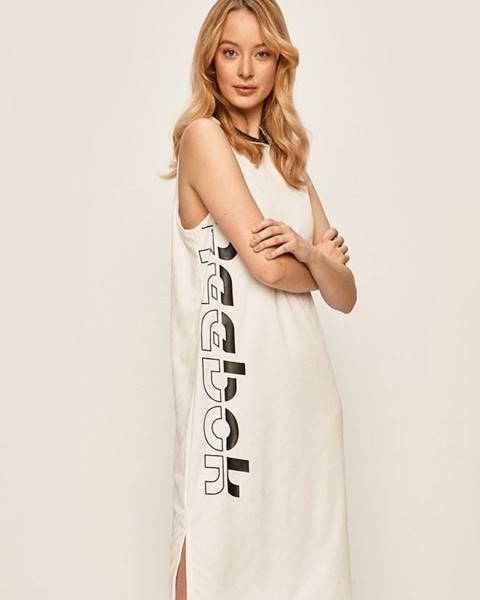 Bílé šaty reebok