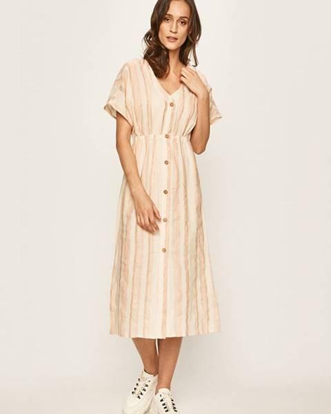 Béžové šaty roxy