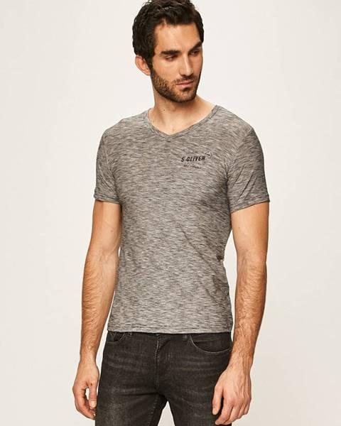 Šedé tričko s.oliver