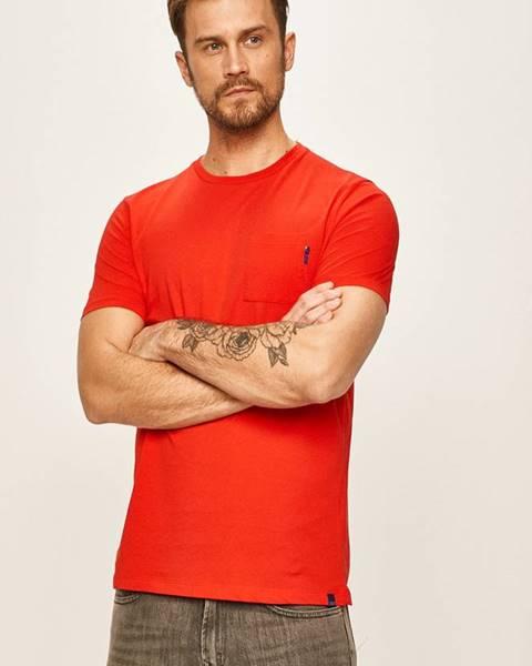 Červené tričko scotch & soda