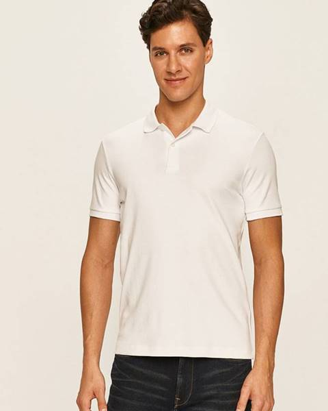Bílé tričko SELECTED