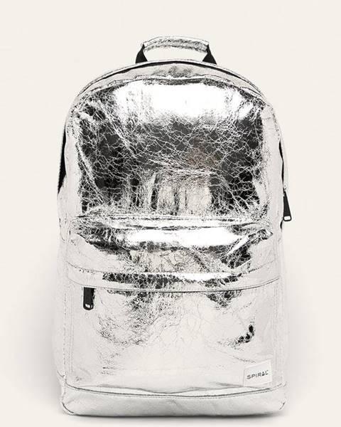 Stříbrný batoh spiral