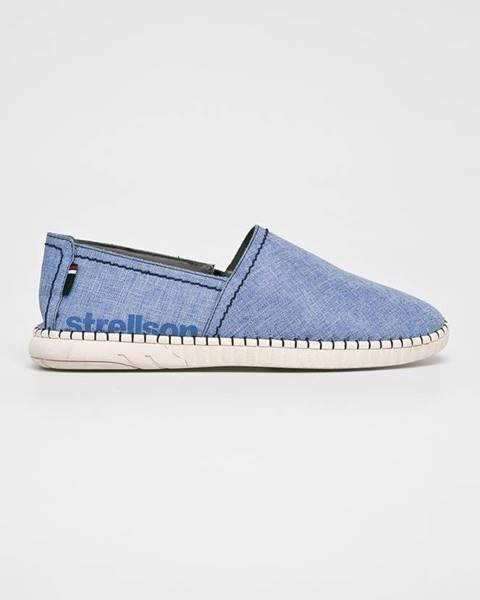 Modré boty Strellson