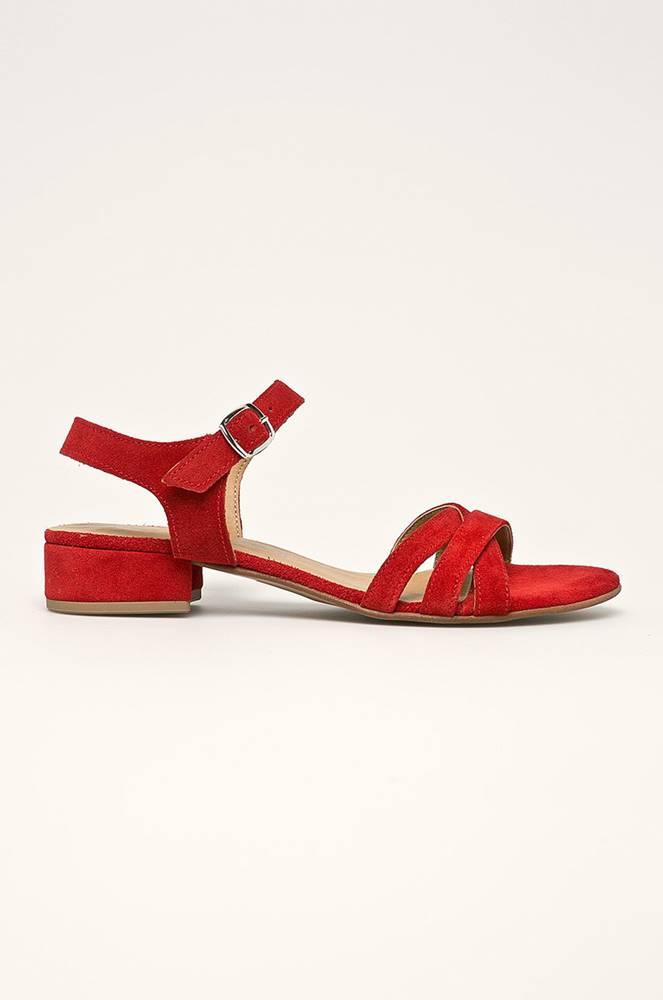 tamaris Tamaris - Kožené sandály
