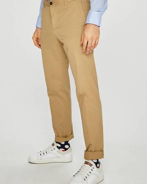 Béžové kalhoty Tommy Hilfiger Tailored