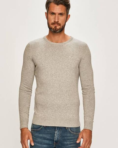Šedý svetr tom tailor denim