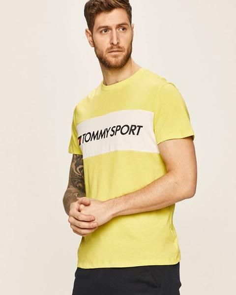 Zelené tričko Tommy Sport