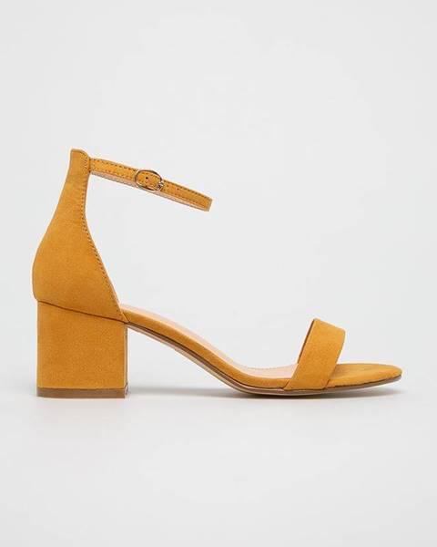 Žluté boty Truffle Collection