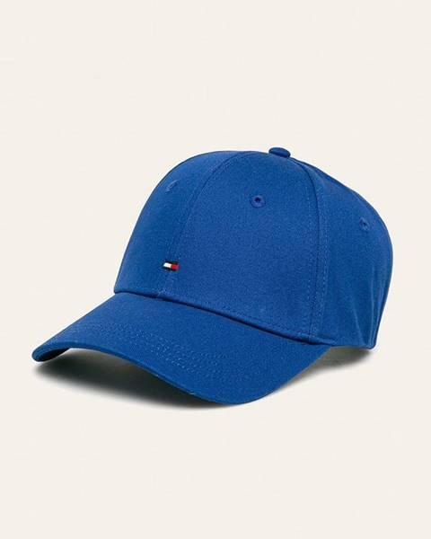 Modrá čepice tommy hilfiger