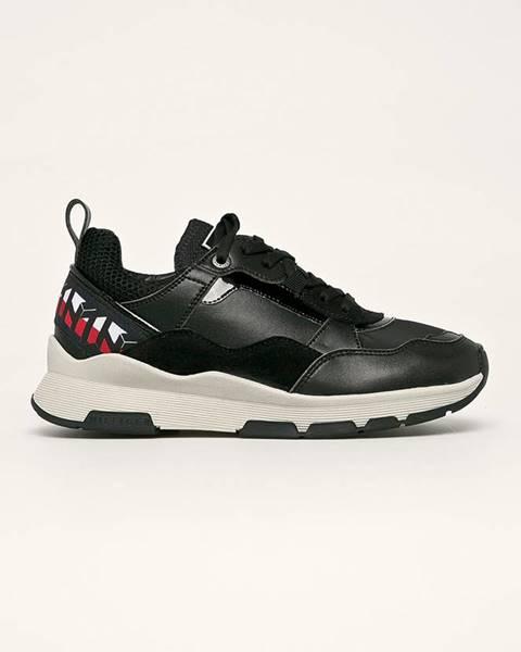 Černé boty tommy hilfiger