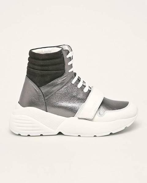 Stříbrné boty TWINSET