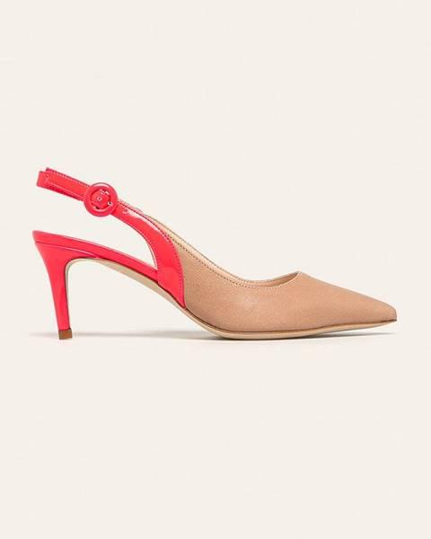 Růžové boty TWINSET