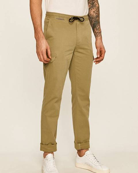 Zelené kalhoty tommy hilfiger
