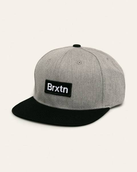 Šedá čepice Brixton