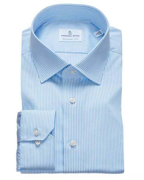 Modrá košile Emanuel Berg