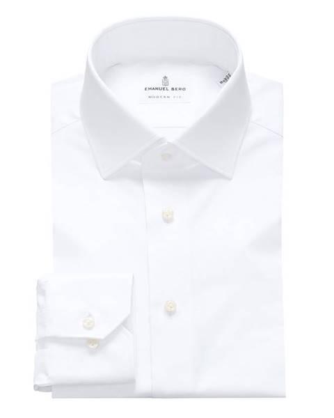 Bílá košile Emanuel Berg