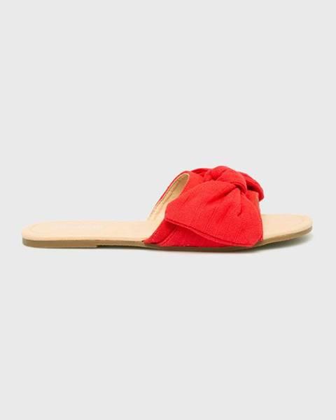 Červené boty ANSWEAR