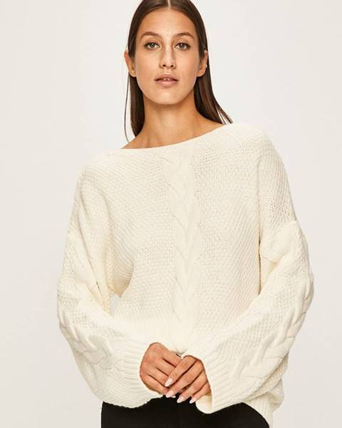 Bílý svetr ANSWEAR