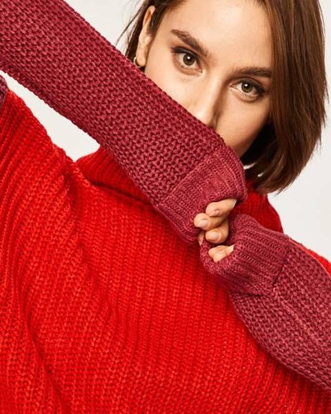 Červený svetr ANSWEAR