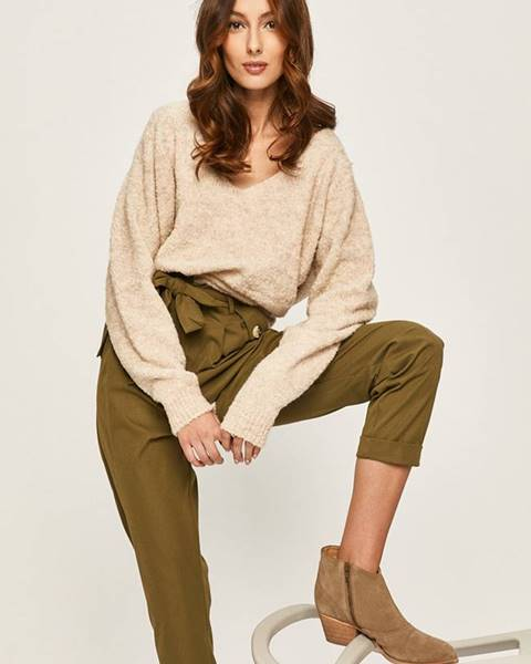 Zelené kalhoty ANSWEAR